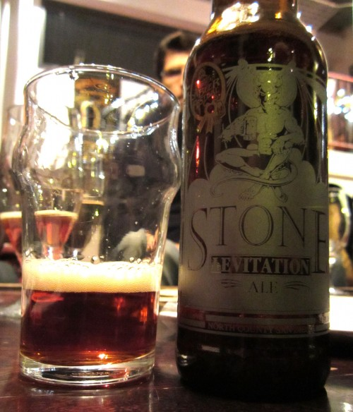 Stone Levitation Ale : Evening with stone brewing and other goodies suregork